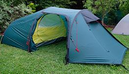 Tatonka- und Rejka-Zelte jetzt in Aktion!