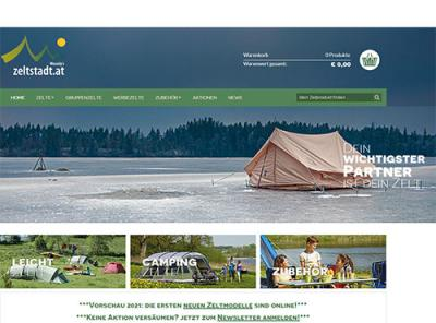 www.zeltstadtshop.at - dein regionaler Onlineshop!