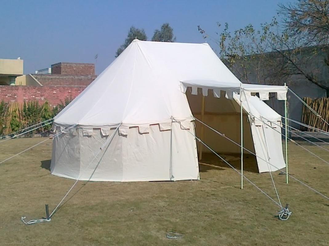 Mittelalter Zelt Gebraucht : Historisches lagerzelt in runder form